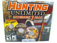 Hunting Unlimited Excursion 3 Pack PC Computer Game FREE FAST Shipping Fun