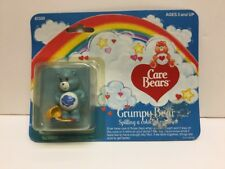 "1984 Care Bears ""Grumpy Bear"" Spilling A Colorful Rainbow In Box By Kenner"