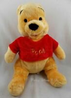 "New Disney Store Exclusive Small Winnie The Pooh Stuffed Plush Toy Doll 12"" NWT"