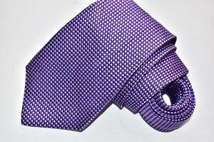 Men's Charles Tyrwhitt Purple London Purple 100% Silk Neck Tie made in England