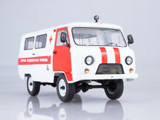 Scale model 1/18 UAZ-3962 Ambulance