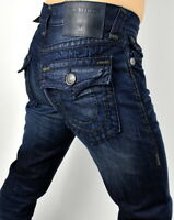 True Religion $329 Men's Rocco Relaxed Skinny Super T Jeans - 100989