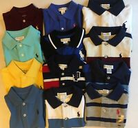 NWT Ralph Lauren Baby Boy Kids Cotton Mesh Polo Shirt 3M- 24M 2T - 7y