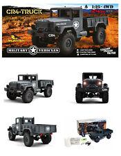 Funtek CR4 Camion Militare Radiocomandato 4x4 1/ 16 con Luci RTR Grigio