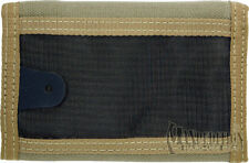 "Maxpedition Spartan Wallet Khaki 0229K 5 1/2"" x 3 1/2"" x 1/2"" closed. Contains a"