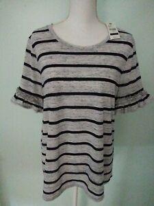 Lane Bryant New 14/16 Women's Striped Top