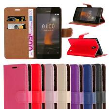 For Nokia 1 Plus Case Leather Wallet Flip Book Stand Cover With Screen Protector