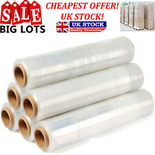 STRONG ROLLS CLEAR PALLET STRETCH SHRINK WRAP CAST PARCEL PACKING FILM 1.2k//Roll