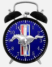 "Mustang GT Alarm Desk Clock 3.75"" Home or Office Decor Z162 Nice For Gift"