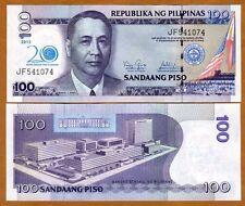 Philippines, 100 Piso, 2013, P-New, UNC > Commemorative 20 years BSP