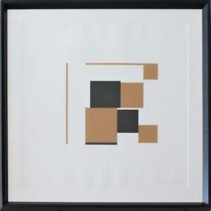 KENNETH MARTIN - SERIGRAFIA 68x68