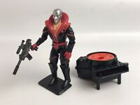 GI Joe Destro 1991 Hasbro Vintage Action Figure with Gun, Stand, and Accessories