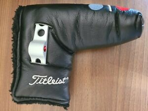 Titleist Scotty Cameron Studio Style Blade Putter Headcover with Divot Tool