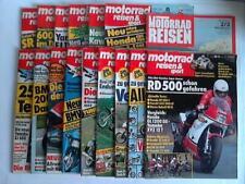 Motorrad, Reisen & Sport: Sammlung aus 14 Zeitschriften