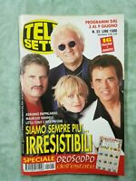 42) TELESETTE ITALIAN MAGAZINE N 23/2001 RITA PAVONE PAPPALARDO VANDELLI TONY