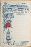 Menu: Liquor/Liqueurs La Micheline, Carcassonne 1900 French Advertising