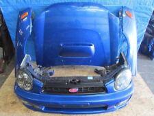 JDM 02-03 Subaru Impreza WRX STI Front End Nose cut bumper Conversion HID, Hood