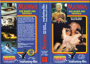 Macabra - Die Hand des Teufels - Samantha Eggar  FSK 18  (VHS Cassette)