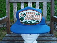 vtg 60s 70s Farmer Hat Mesh Trucker Snapback Parks Gardening patch John Deere !!