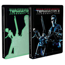 Terminator 2: Judgment Day 4K UHD + 2D Blu-Ray Exclusive Steelbook New & Sealed+