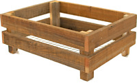 Organic Redwood Planter Crates & Home Vegetable Garden Boxes