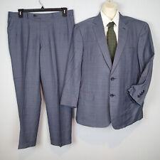 BRIONI 'Colosse'  2-BT Wool-Silk Suit 44r but short blazer jacket  pants r7