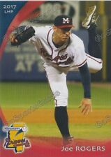2017 Mississippi Braves Joe Rogers RC Rookie Atlanta