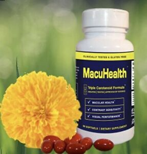 NEW MACUHEALTH 🤓 MacuHealth LMZ3 Vitamins 90 Capsules Soft Gels SEALED Exp 5/23