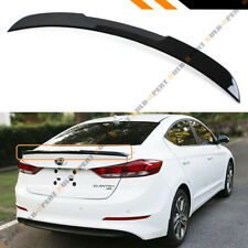 For 2017-18 Hyundai Elantra 4dr KDM Glossy Black H Style Trunk Lid Spoiler Wing