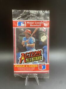 1984 Donruss Action All Stars SEALED Pack - Pete Rose On Front