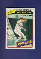Steve Carlton All-Star HOF 1980 TOPPS Baseball #210 (NM) Philadelphia Phillies
