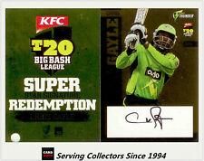 2012-13 T20 Big Bash League Cricket Star Signature Card SSS6 Chris Gayle