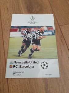 Newcastle United V Barcelona - Champions League Group Stage - 1997-98