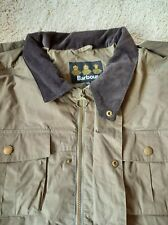 XXL Autumn Trooper Wax Barbour Jacket Olive Green T315