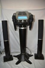 Untested The Singing Machine Karaoke Music System Karaoke Vision with speakers !