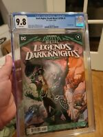 Dark Nights Death Metal Legends of the Dark Knights #1 1st Robin King CGC 9.8