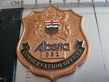 ALBERTA CONSERVATION OFFICER BADGE,,,