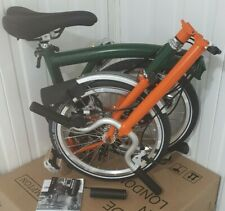 BNIB BROMPTON Orange & Green M3L FOLD BIKE 3 Speed Worldwide🌎 P&P
