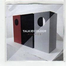 (FC892) Talk In Colour, Rushes EP - 2012 DJ CD