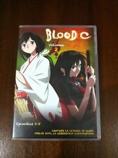 BLOOD C VOLUMEN 2 - DVD - CAPITULOS 5 A 8 - SELECTA VISION - 100 MINUTOS - CLAMP