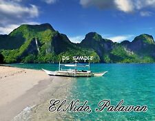 Philippines - el nido palawan - Travel Souvenir Flexible Fridge Magnet