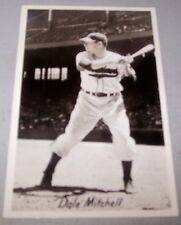 1950's Cleveland Indians Dale Mitchell Glossy Postcard / Post Card