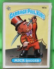 1986 GARBAGE PAIL KIDS ORIGINAL 5TH SERIES 88 CARD VARIATION SET 167 AB-206 AB