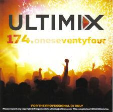 Ultimix 174 CD Ultimix Records David Guetta,Chris Brown,Flo-Rida,Luciana,Chuckie