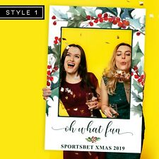 Christmas Party Photo Booth Frame Props (80 x 110 cm)