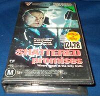 SHATTERED PROMISES VHS PAL BRIAN DENNEHY  VILLAGE ROADSHOW