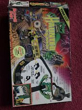 TYCO HAUNTED HIGHWAY SLOT CAR TRUCK SET WITH 2 SETS OF TRUCKS COMPLETE EXCELLENT