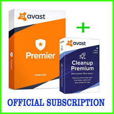 New Avast Premium Security Version 2020 5 PC - 3 Year Official Subscription Fast