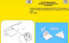 CMK 1/72 B-17G Flying Fortress Navigators Compartment Set for Revell # 7208