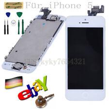 Display LCD für iPhone 5 Mit RETINA Scheibe Bildschirm Touchscreen Glas Weiß DE